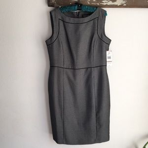 Black Label By Evan Picone printed dress